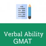 GMAT verbal mock test