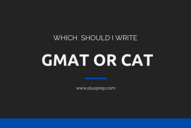 GMAT or CAT