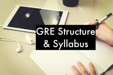 GRE structure and Syllabus