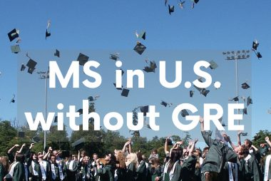 MS in US without GRE