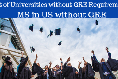 MS in the US without GRE