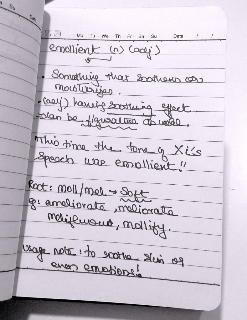 How to maintain a vocabulary notebook for GRE | Plusprep