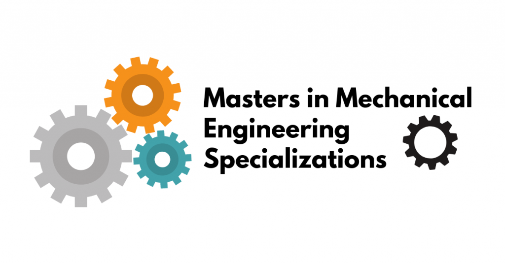 Masters in Mechanical Engineering Specializations - Plus Prep