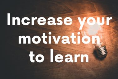 Increase motivation to learn