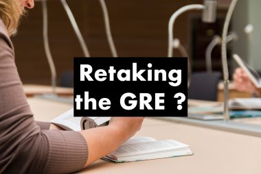 retaking the gre