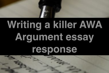 AWA Argument essay