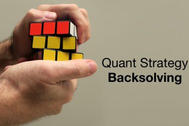 backsolving: quant strategy