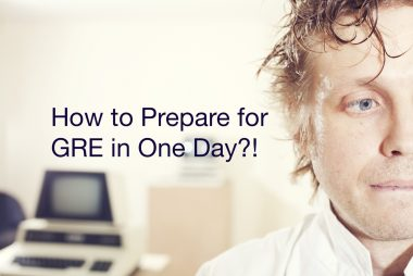 prepare for GRE in one day