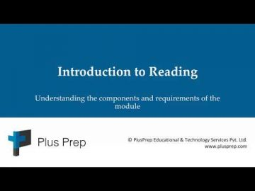 IELTS - Introduction to the Reading module | plusprep education