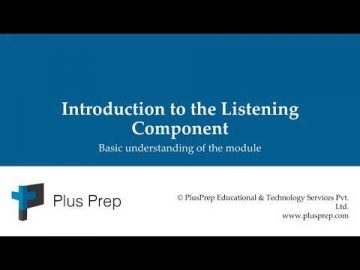IELTS - Introduction to the listening Component | plusprep education