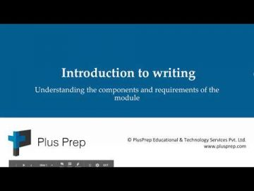 IELTS - Introduction to Writing module | plusprep education